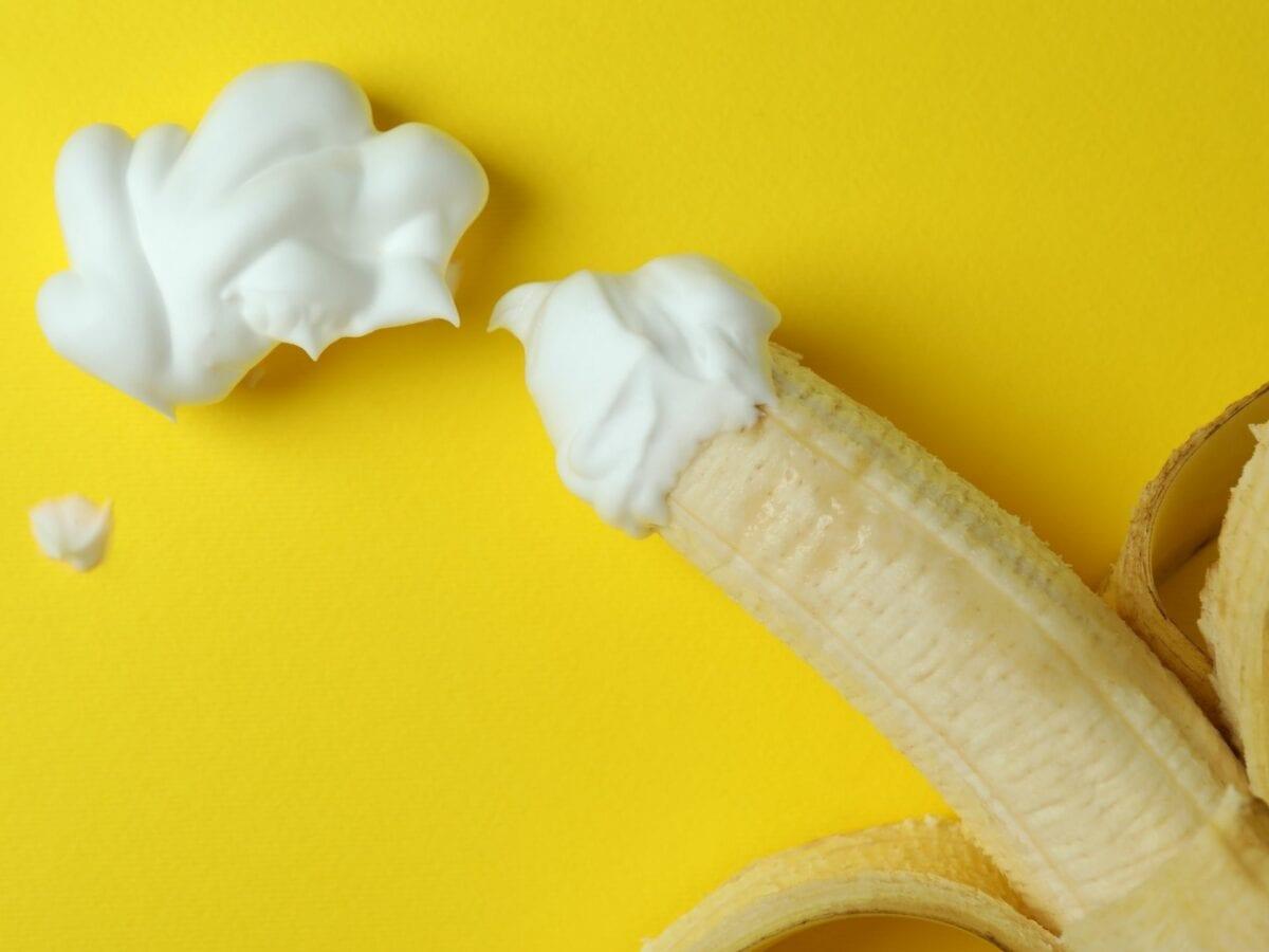 banane mit sahne