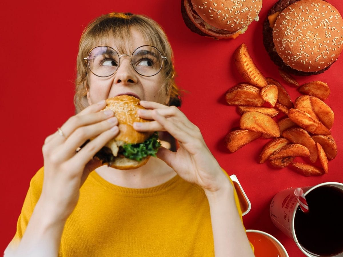 Frau Fast Food