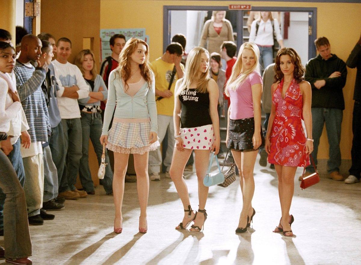 2000er Mode, Mean Girls, Film, Mode, kurze Röcke