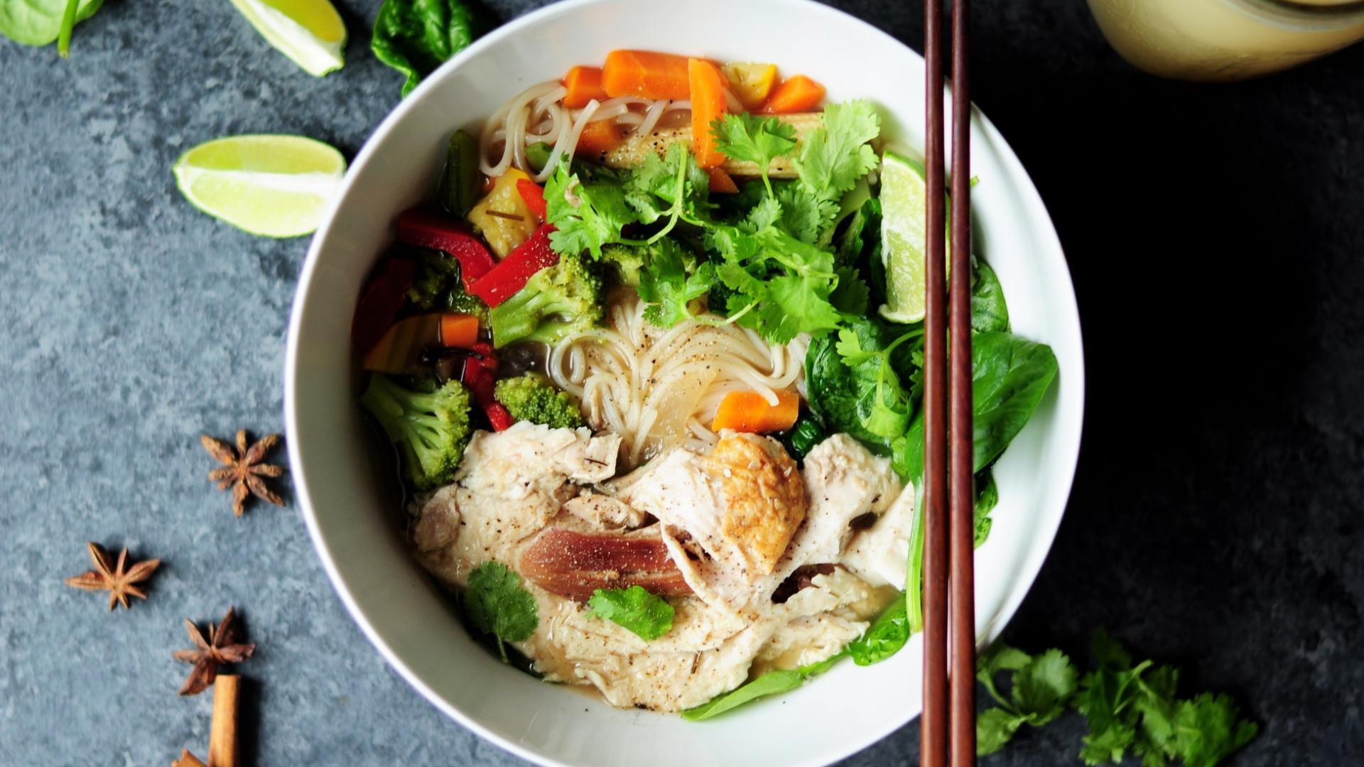 Vietnams Nationalgericht: Pho-Suppe