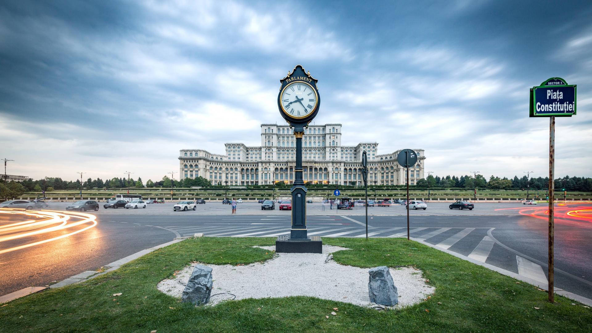 Bild des Parlaments in Bukarest