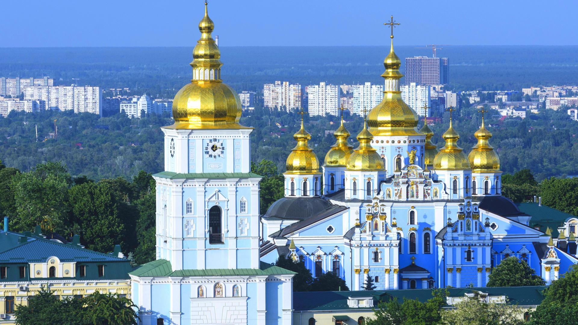 St Michaels Kloster in Kiev