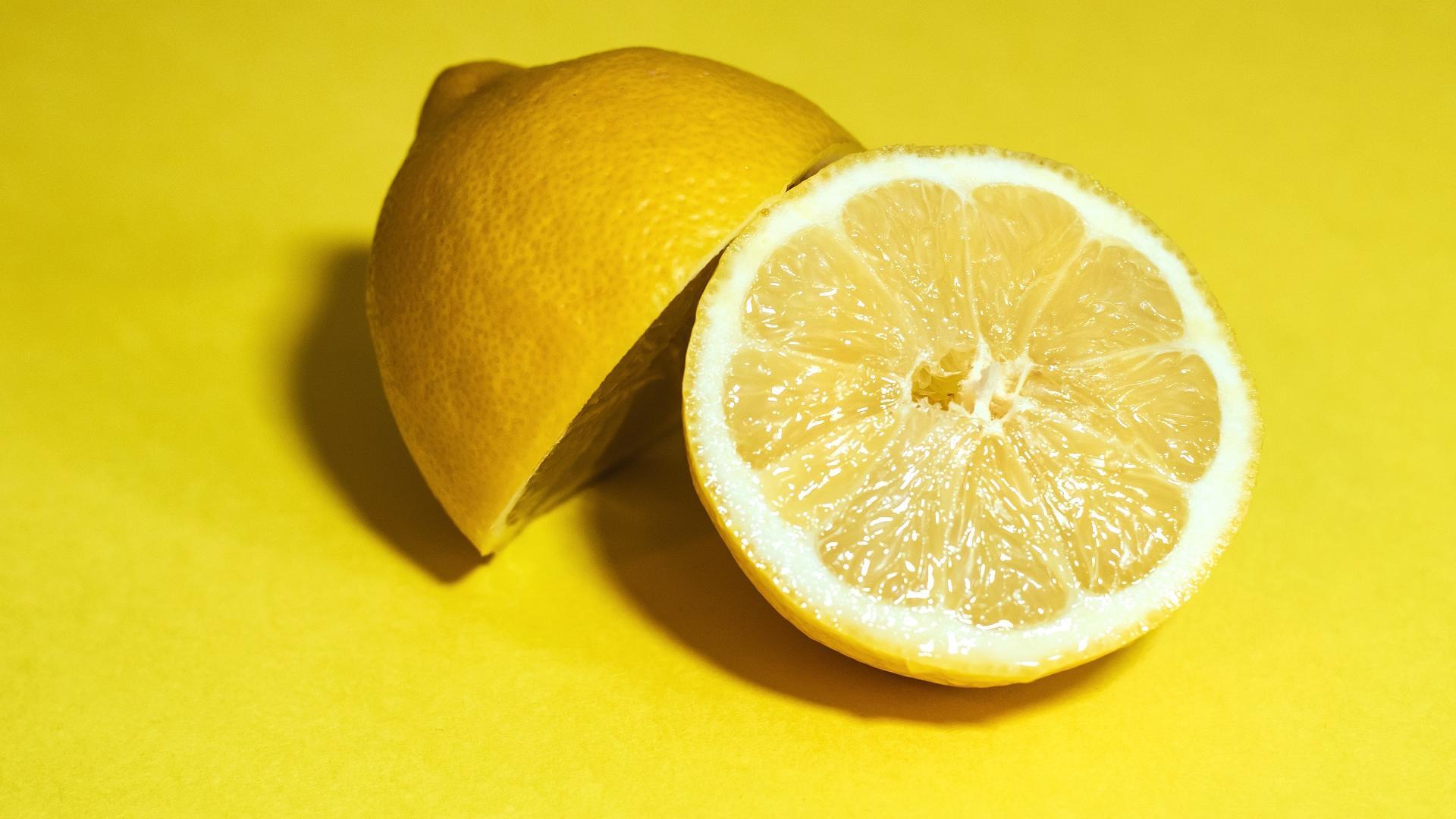 Zitrone zum aufhellen