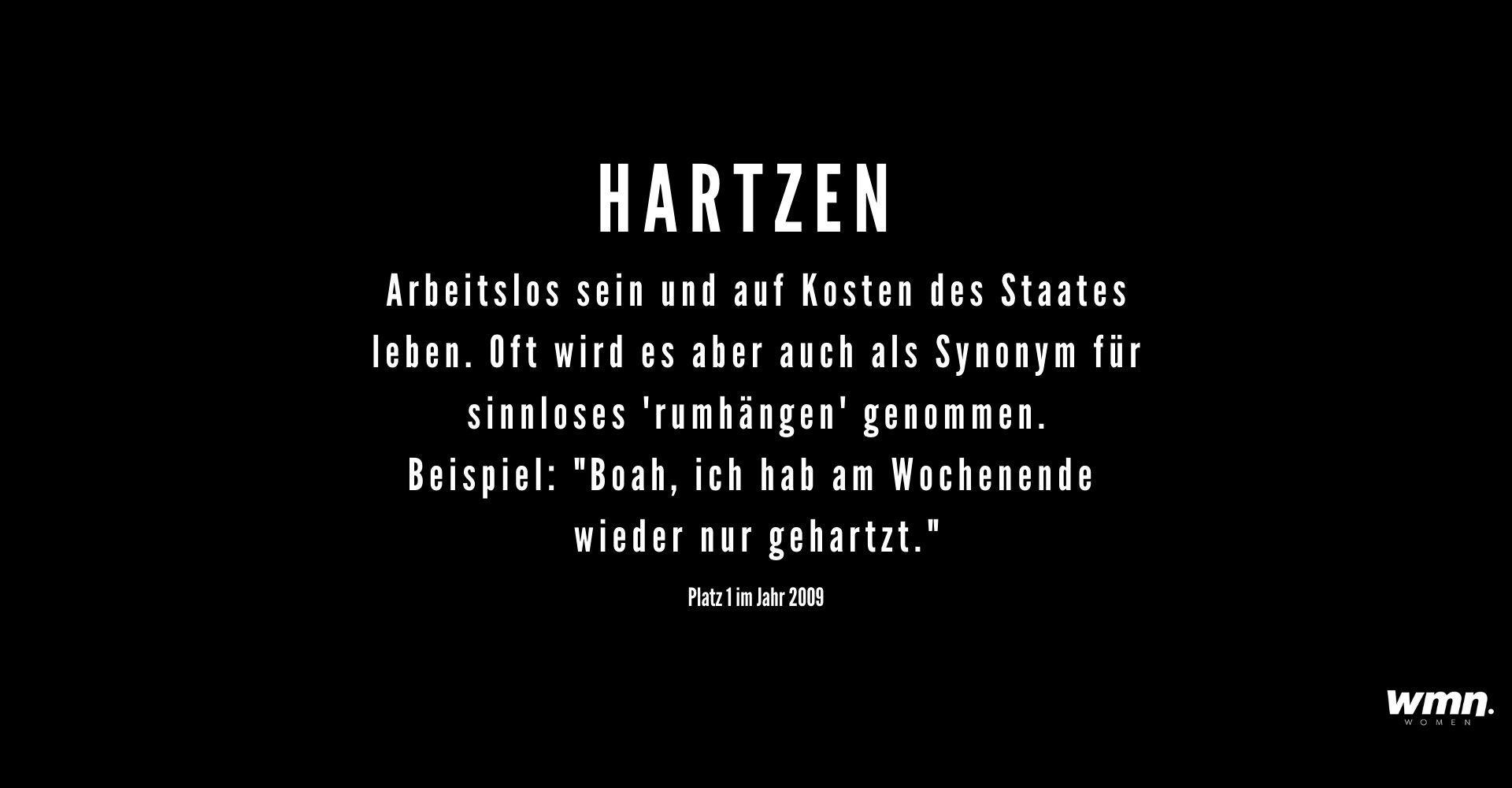 Hartzen