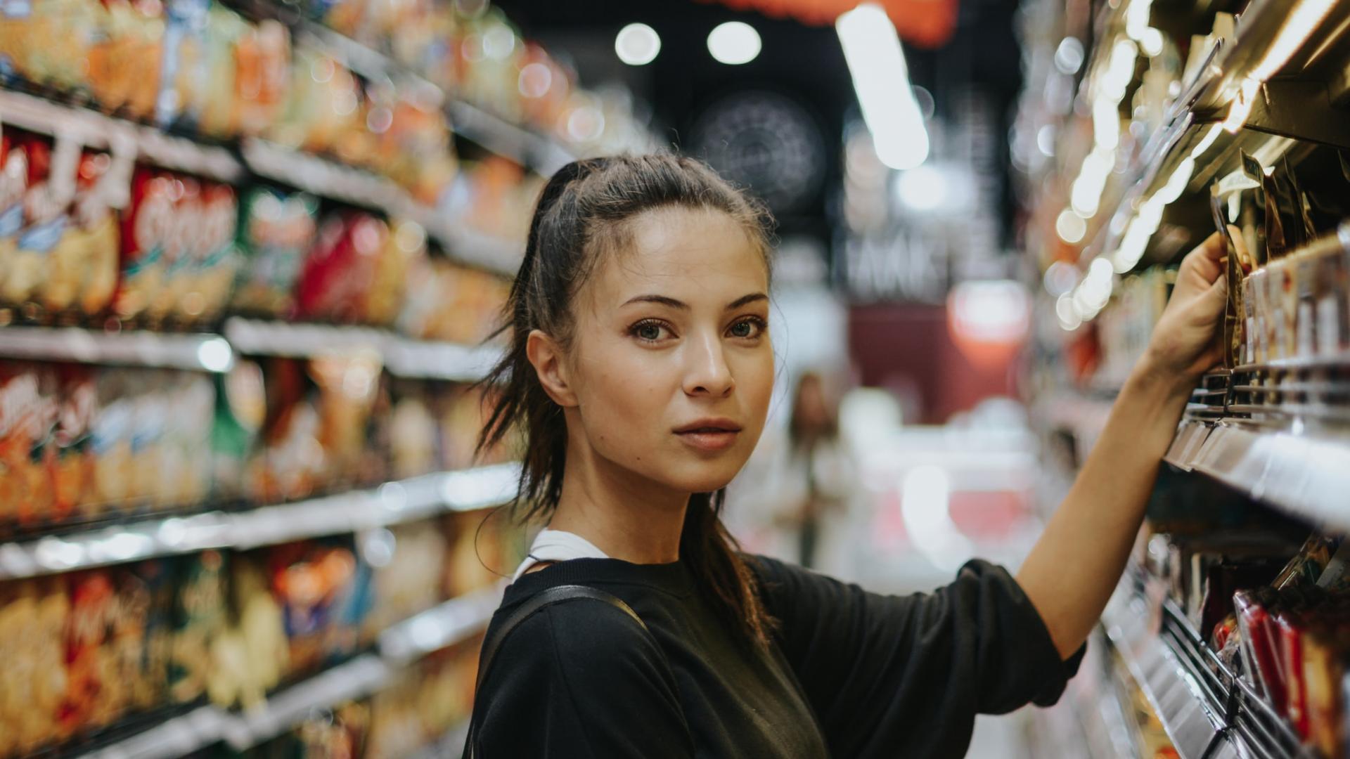Verpackung, Supermarkt