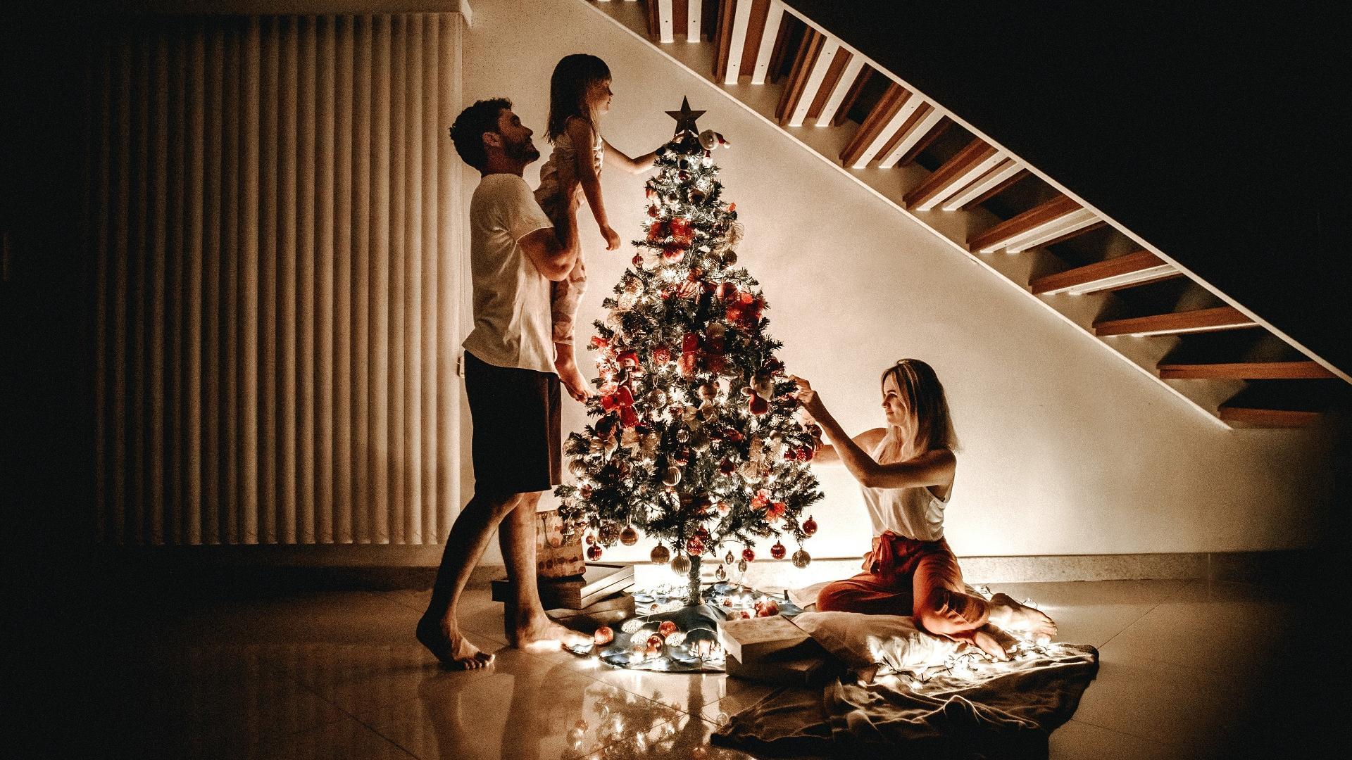 familie zu Weihnachten familienplanung