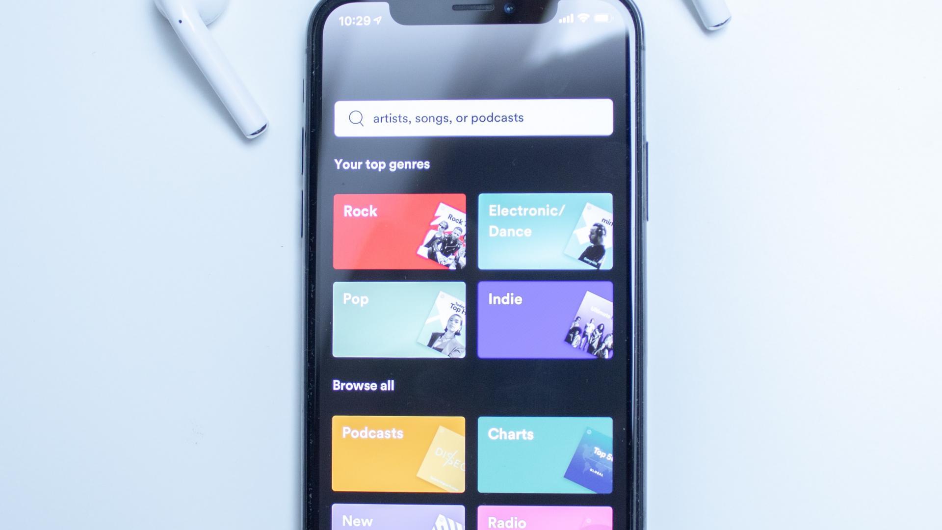 Spotify Smartphone