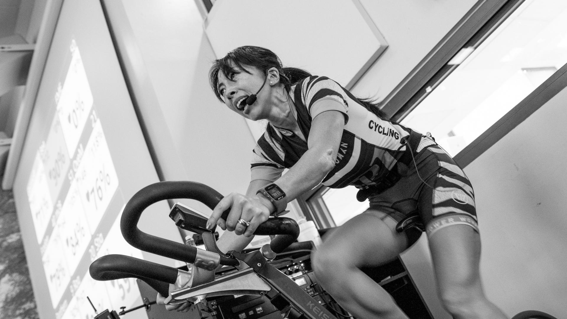 Spinning Trainerin