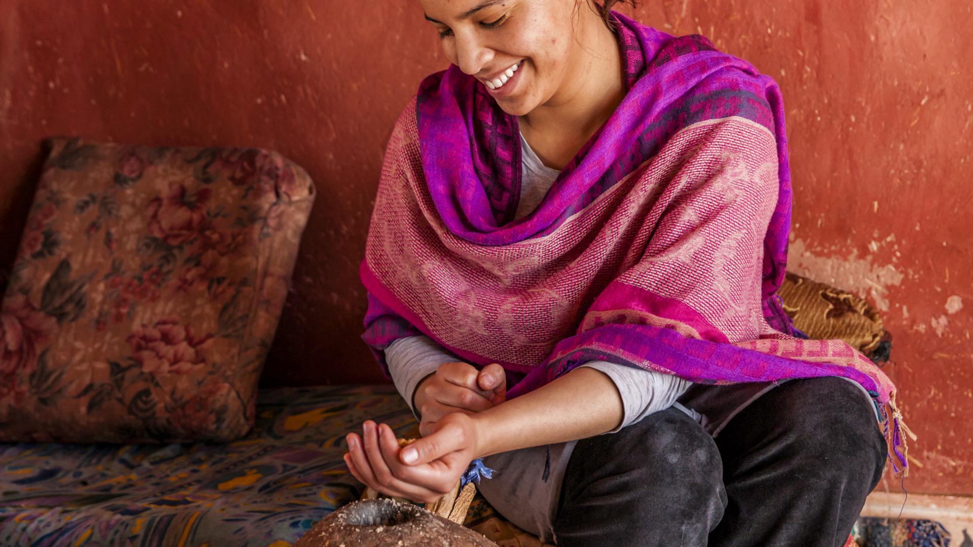 Arganöl Herstellung, Marokko