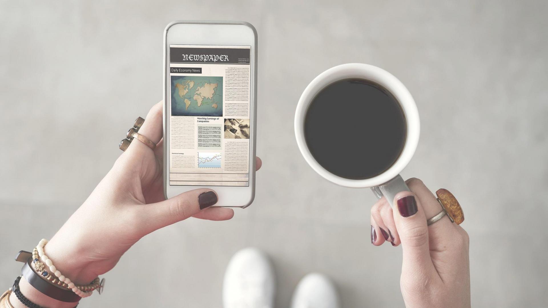 Kaffee Handy News