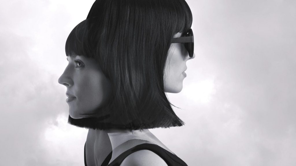 Frau zwei Gesichter