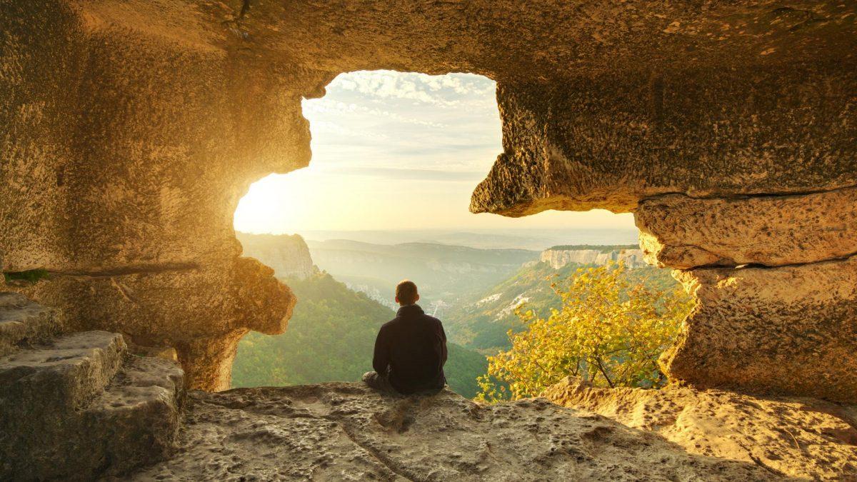 Höhle wandern natur Sonnenaufgang