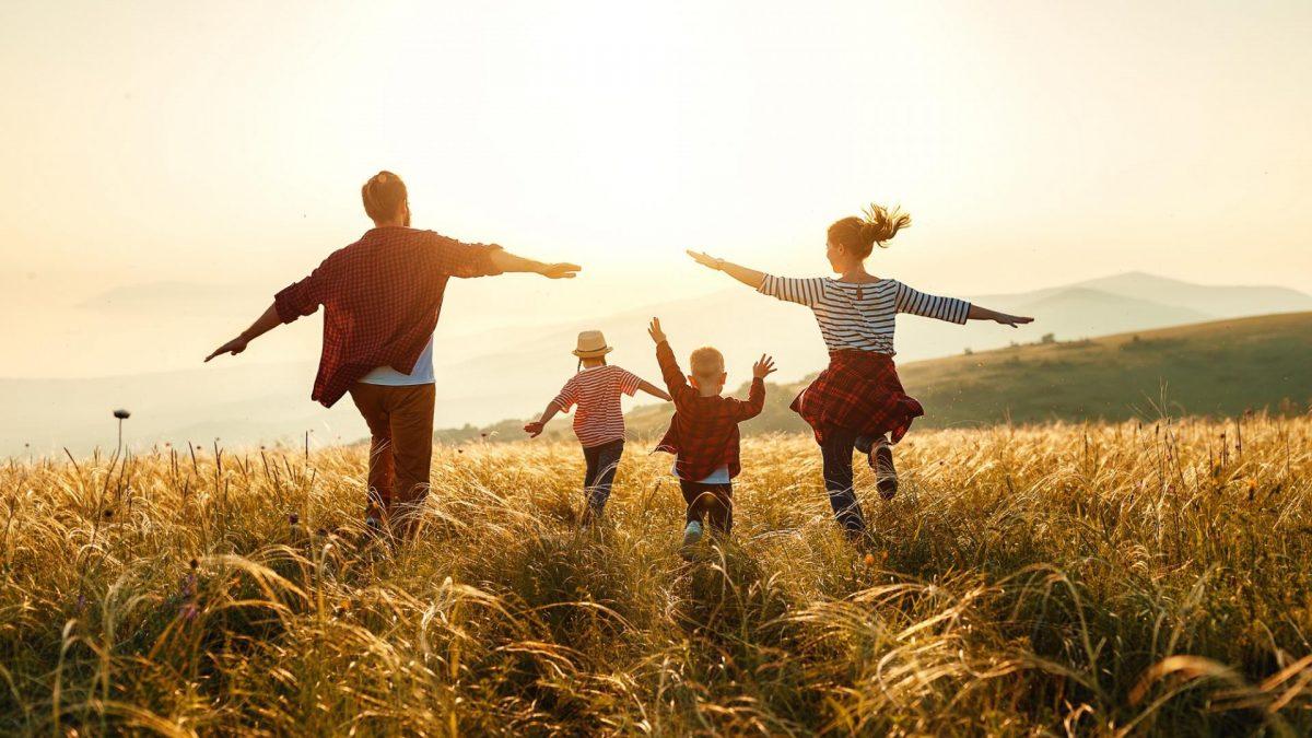 Familie Feld Sonne