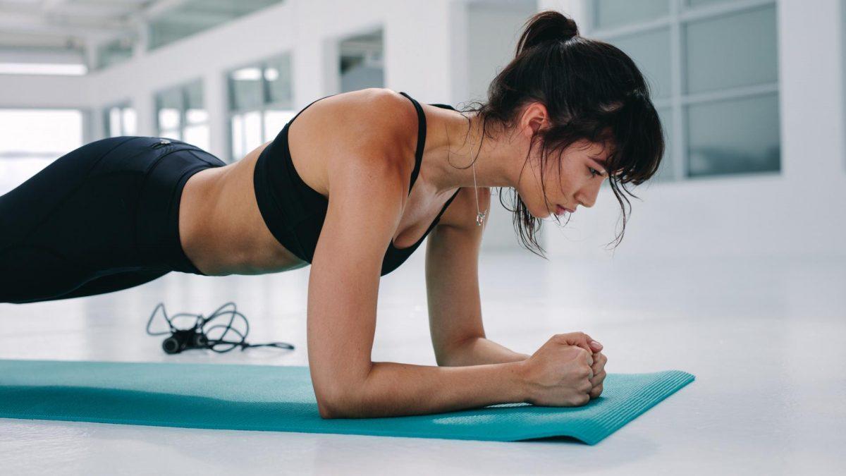 Übung Sport Rücken Workout