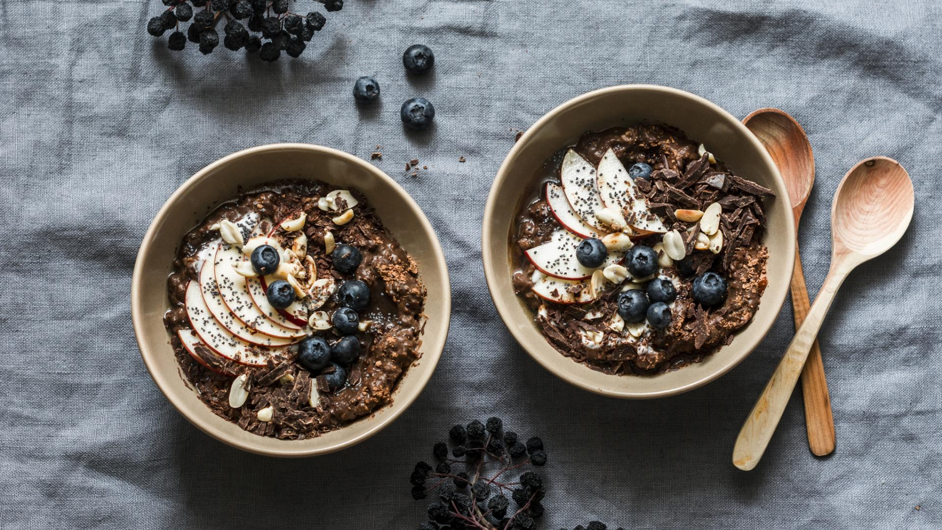 porridge superfood gesund frühstück essen
