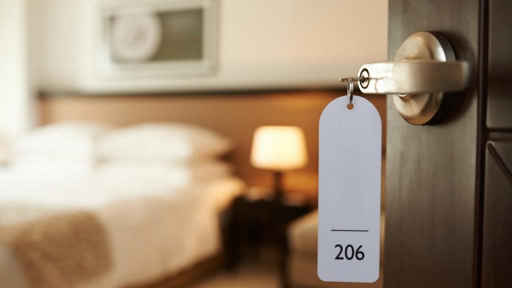 Hotelzimmer Hotelschlüssel