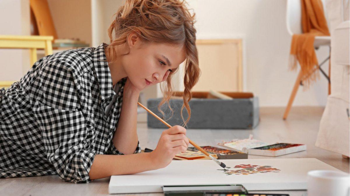 zeichnen malen frau hobby langeweile