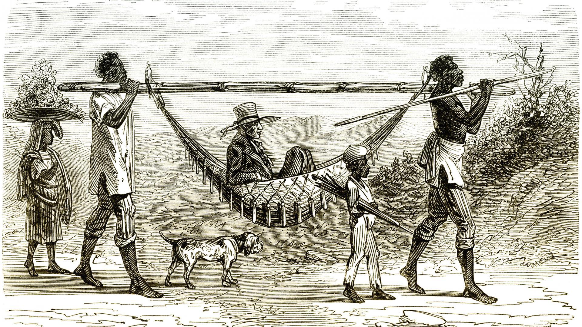 Die Verbrecher der Kolonialzeit in Amerika, Indianer