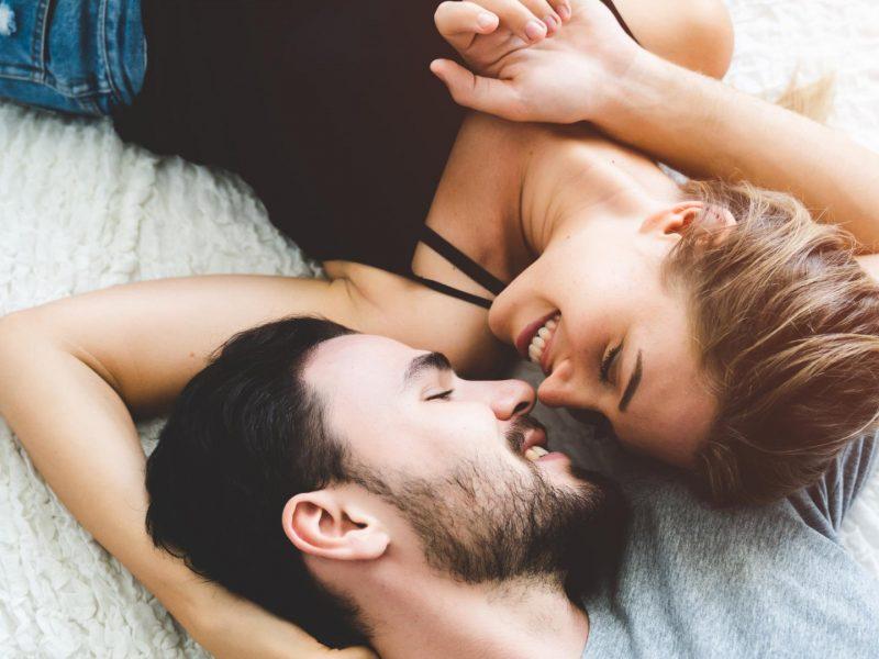 Mann und Frau Liebe Sex