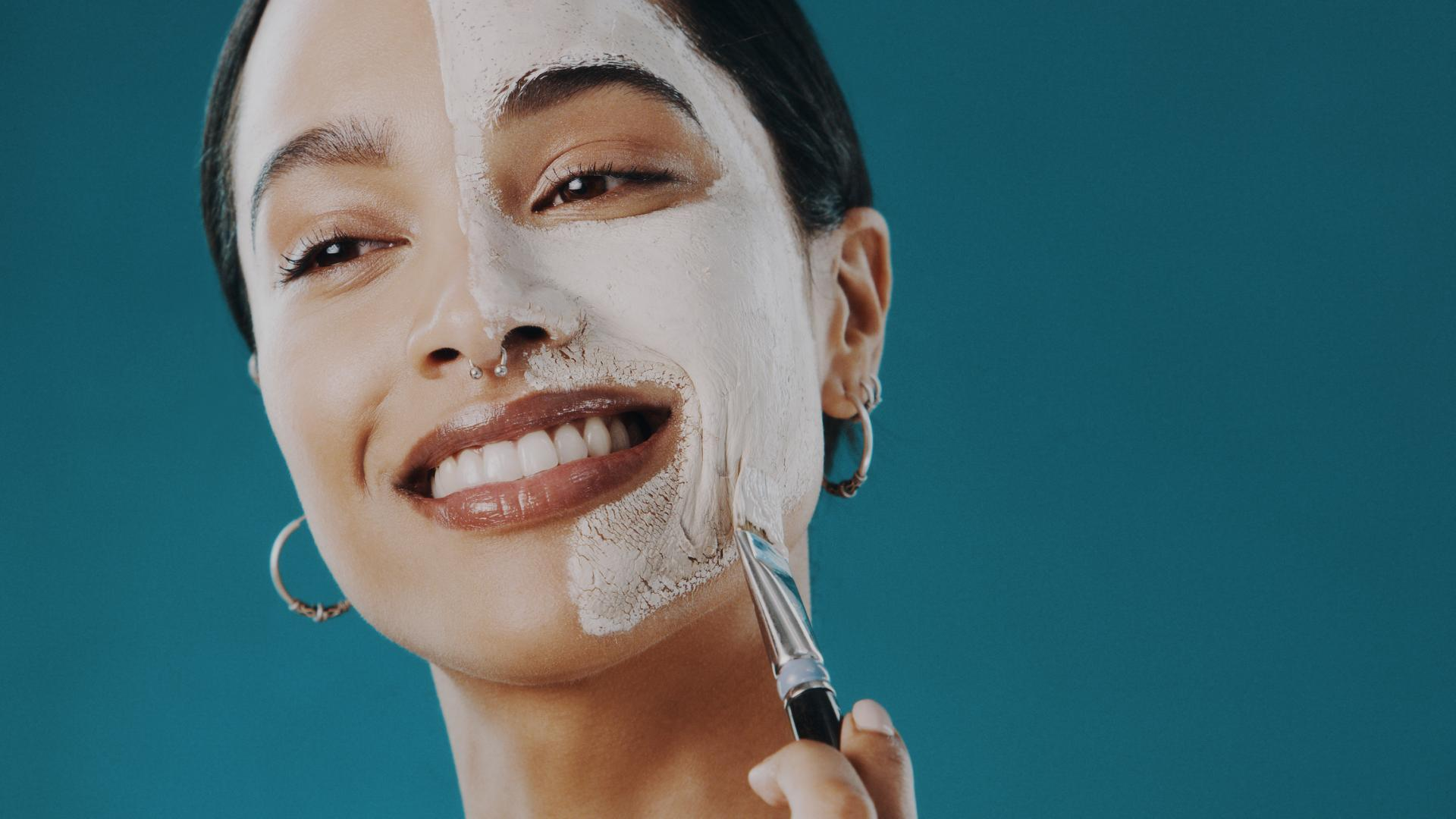 maske beauty frau peeling chemisch