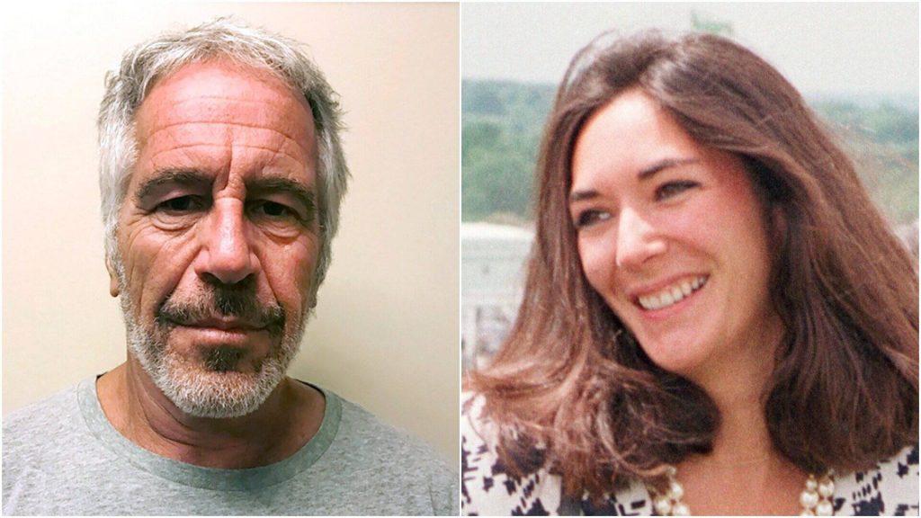 Ghislaine Maxwell und Jeffrey Epstein