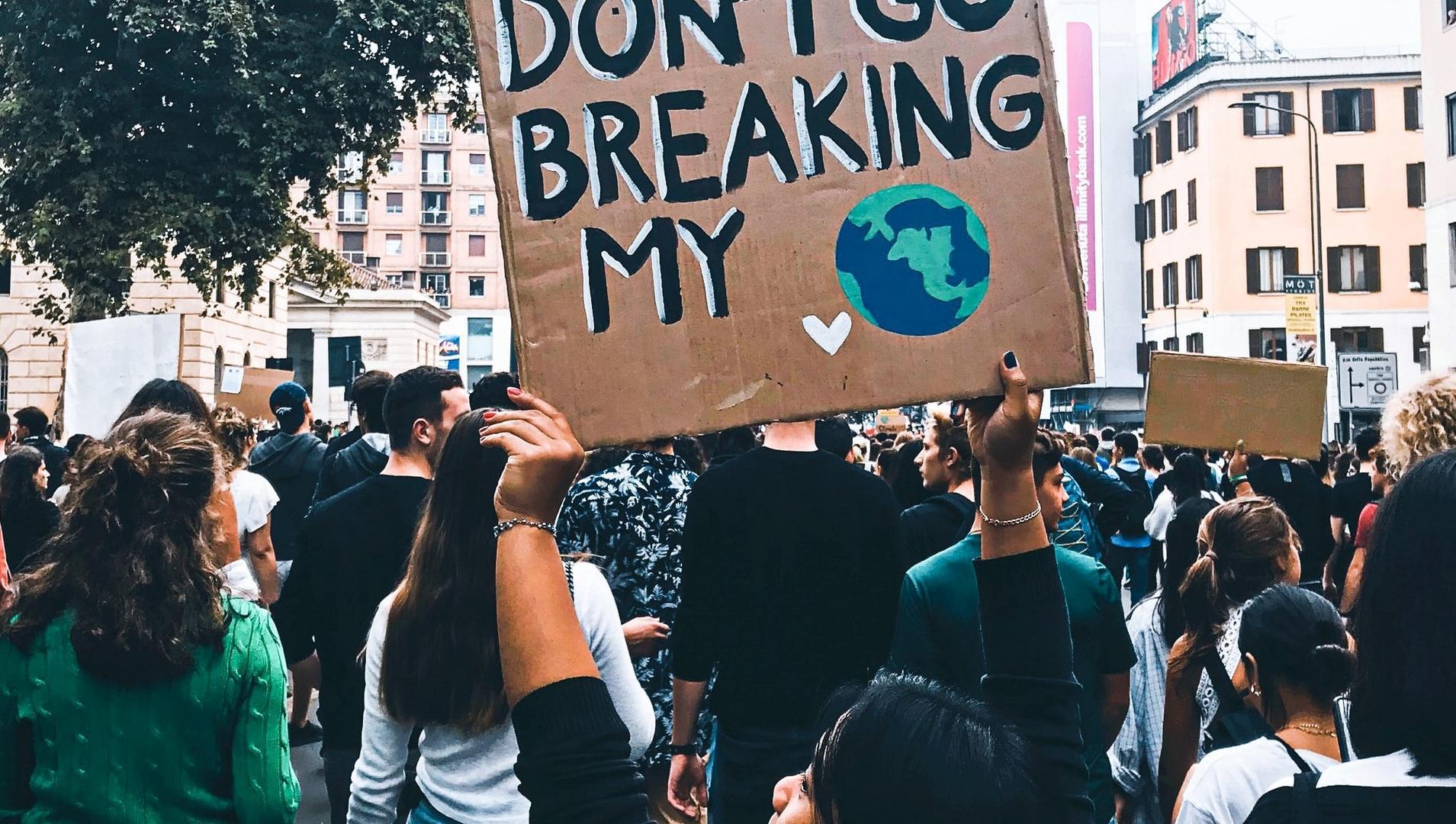 Klimawandel, Demonstration
