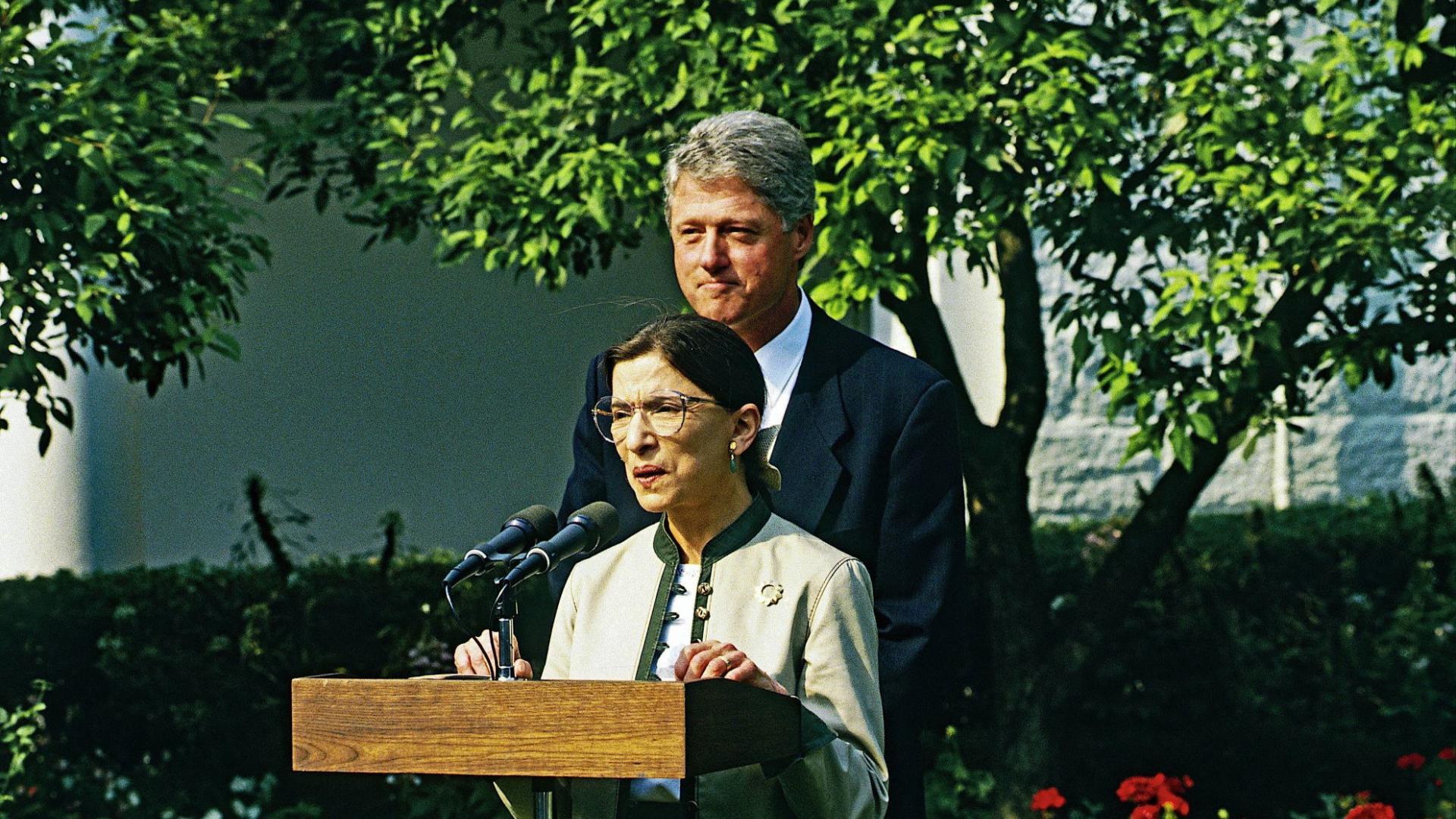Ruth Bader Ginsburg Bill Clinton
