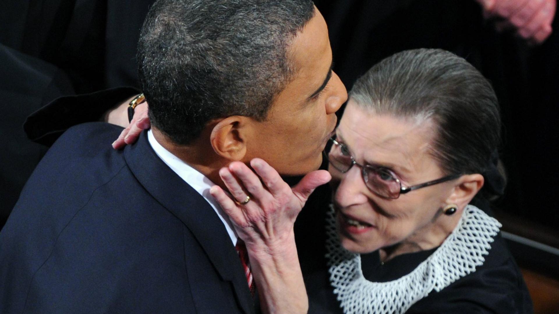 Barack Obama Ruth Bader Ginsburg