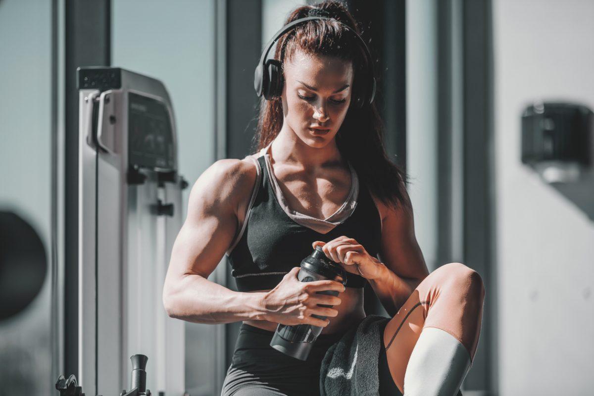 Muskeln nackt frauen Nackt