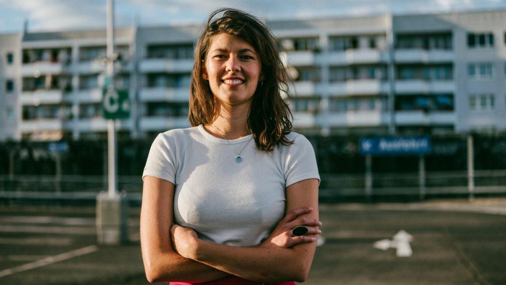 Lena Jüngst ist Gründerin und Produktdesignerin.