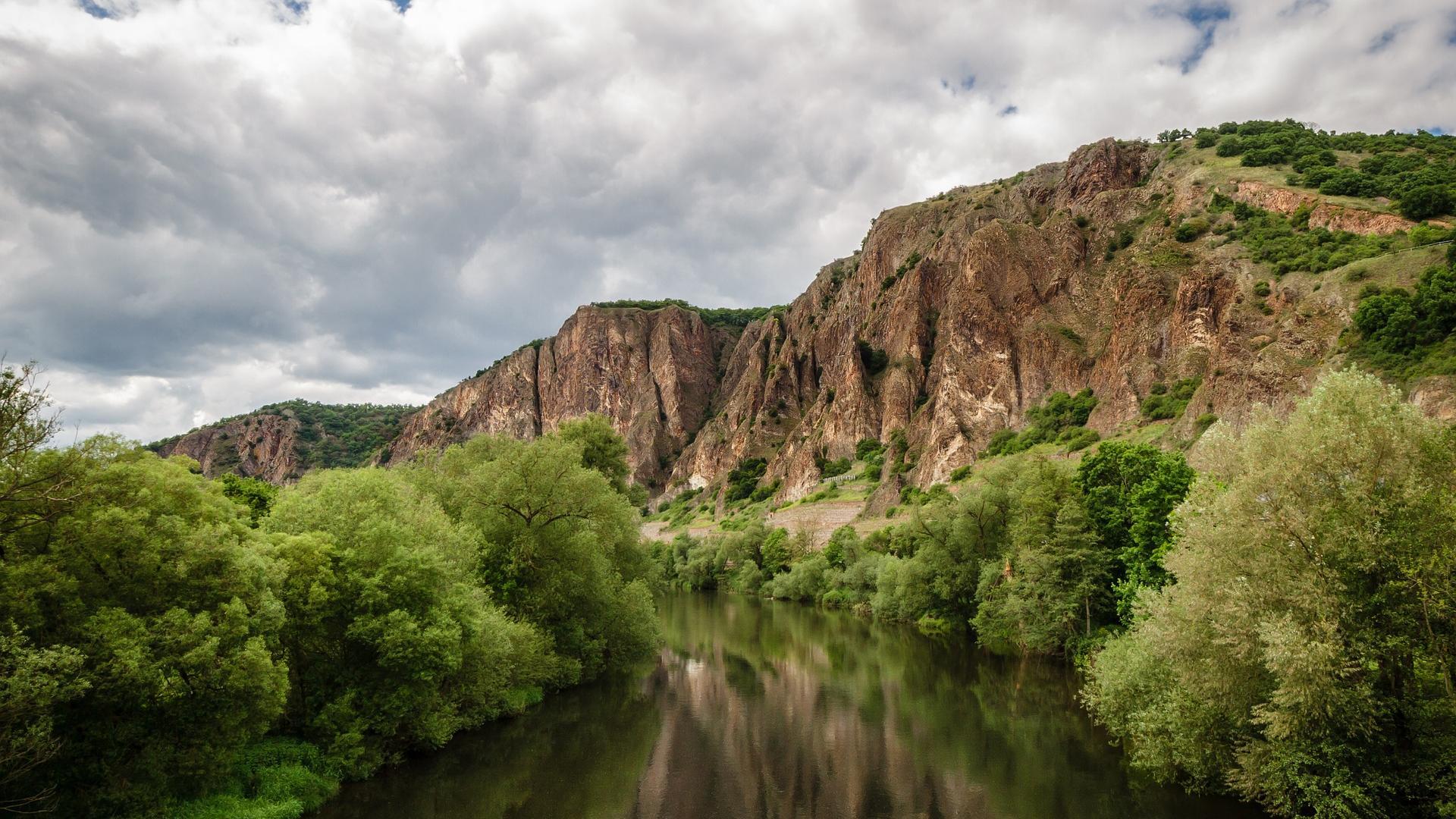 Rotenfels Fels Wasser