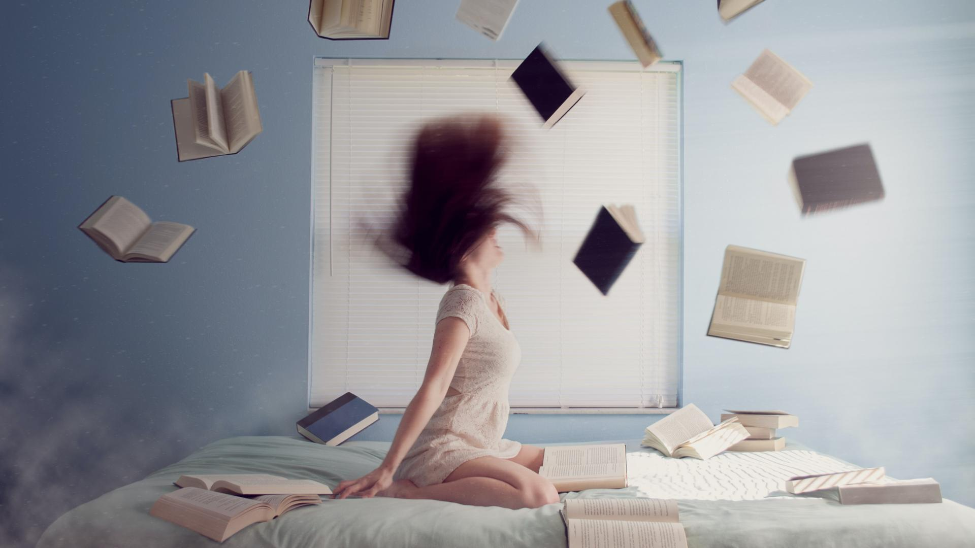 Frau Bücher stress lernen
