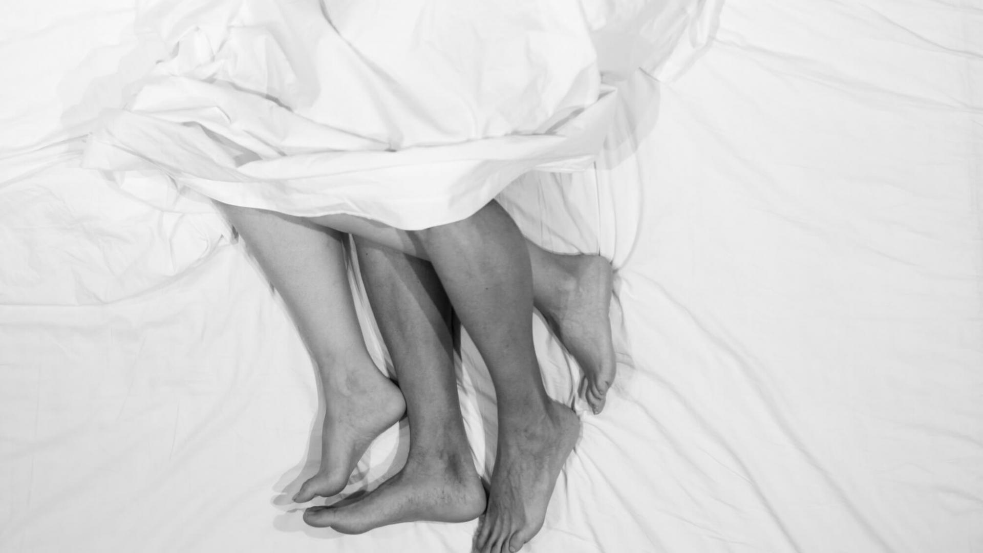 Paar, Bett