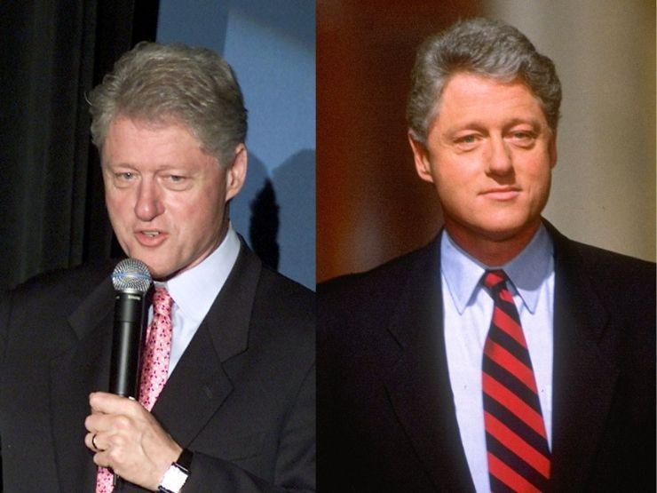 Bill Clinton 2011 und 1993