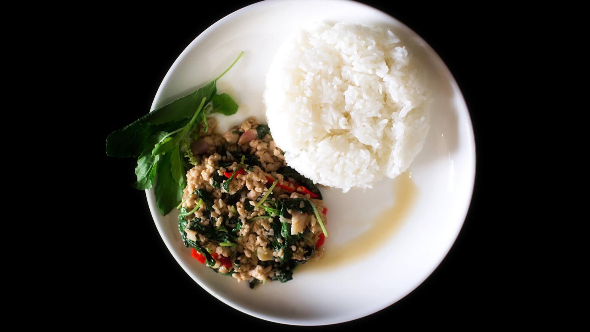 Essen, Holy Basil, Asiatisch