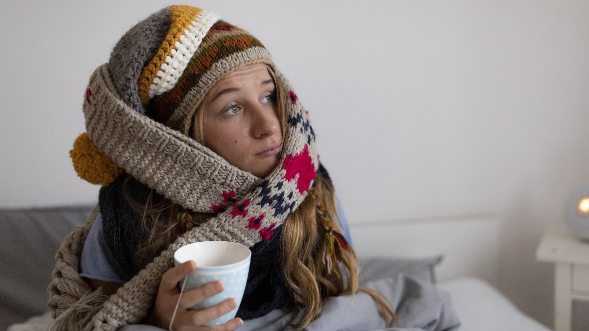 Heizkosten sparen, kalt, Winter, Schals