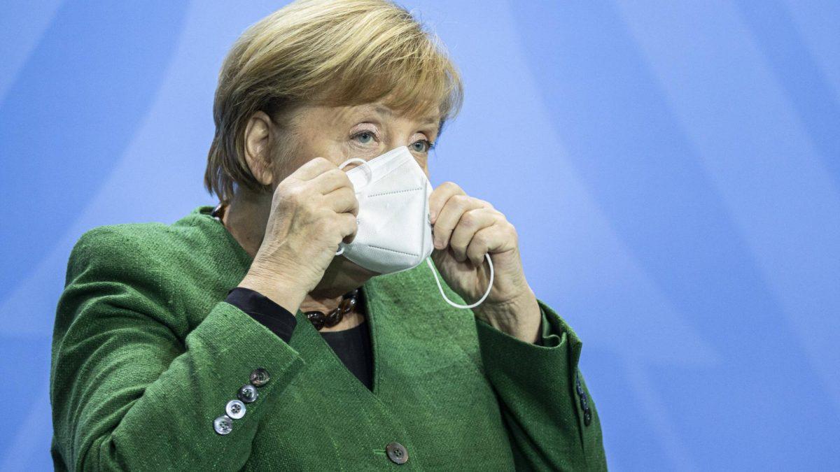 Angela Merkel, Bundeskanzlerin, politik maske maskenpflicht