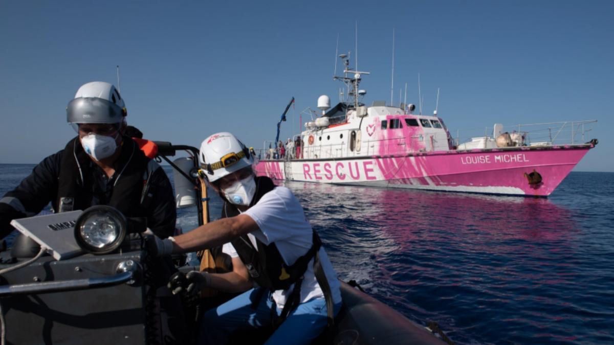 Banksy spendet Schiff für Seenotrettung