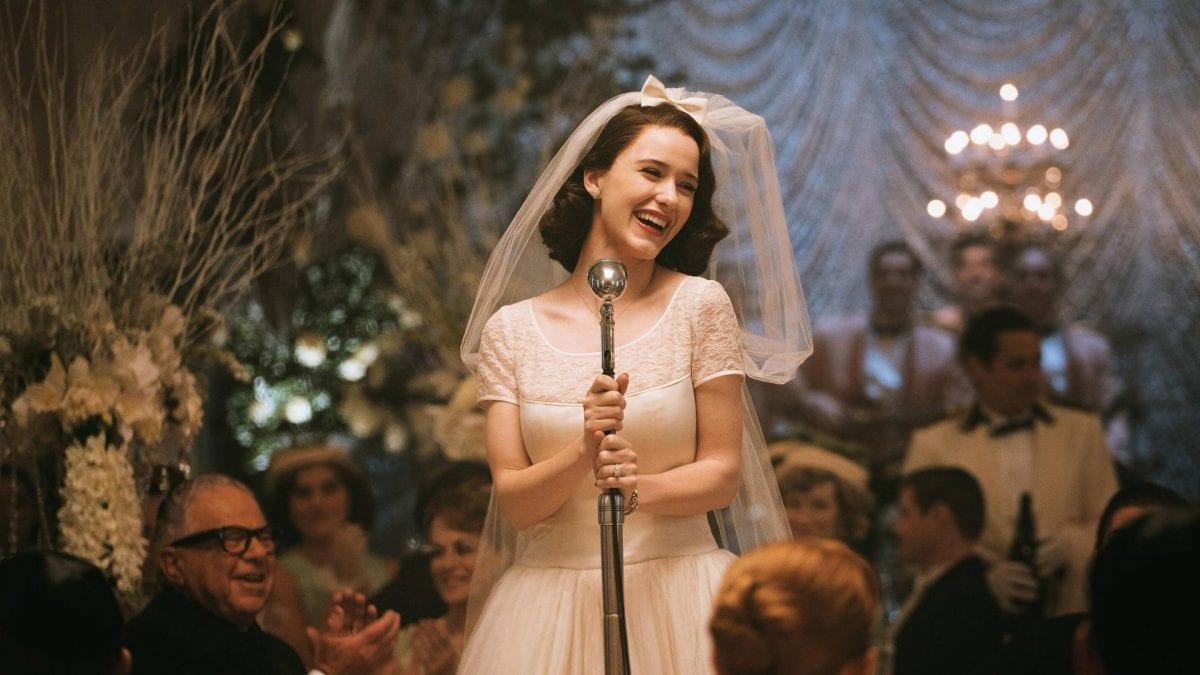 """Bild aus der historischen Serie """"The Marvelous Mrs. Maisel"""""""