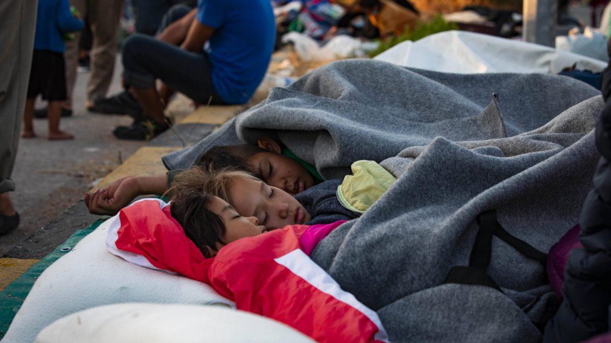 Camp Moria Flüchtlinge