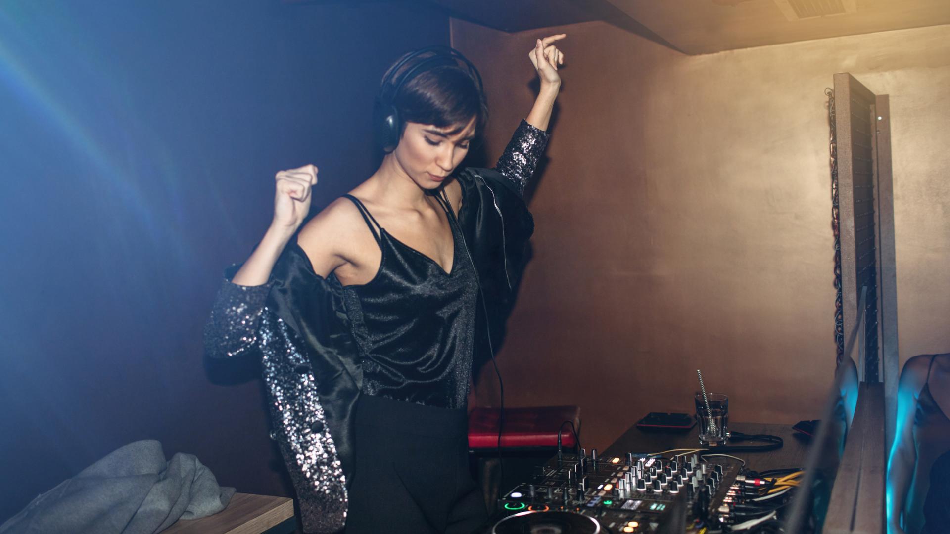 Club Party DJane Frau
