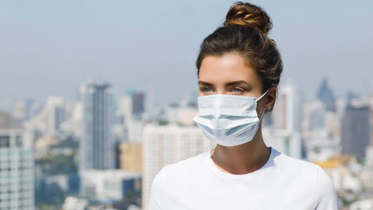 Corona maske atemschutz