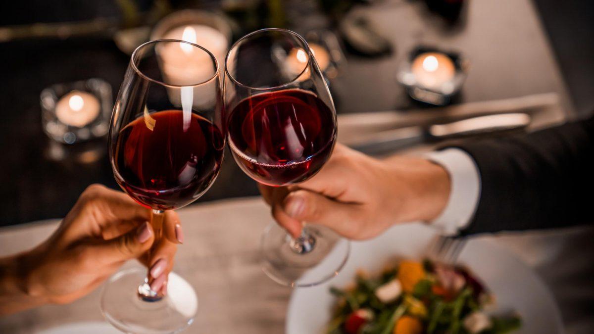 Dinner Restaurant Wein