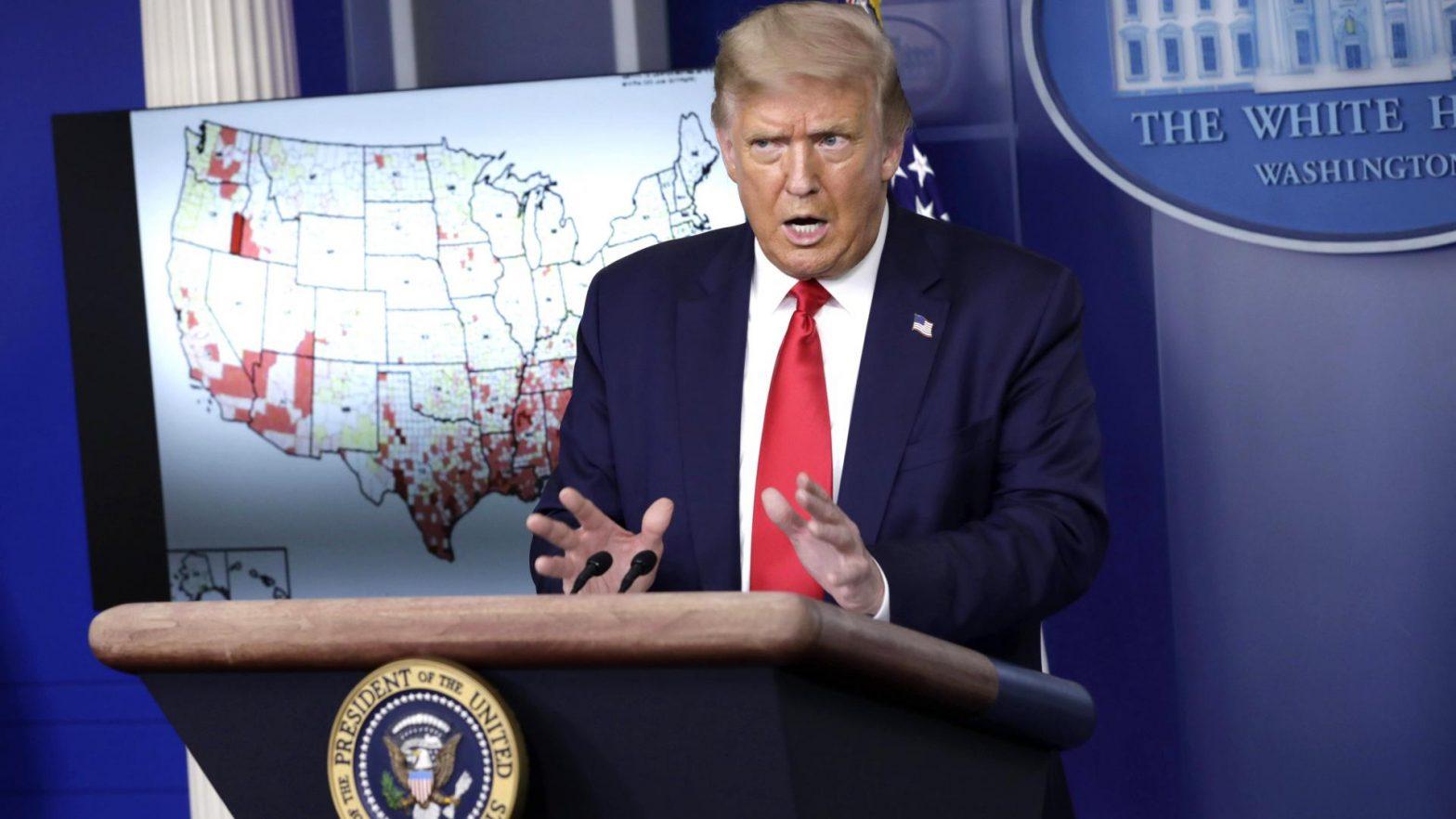 Trump Aussagen