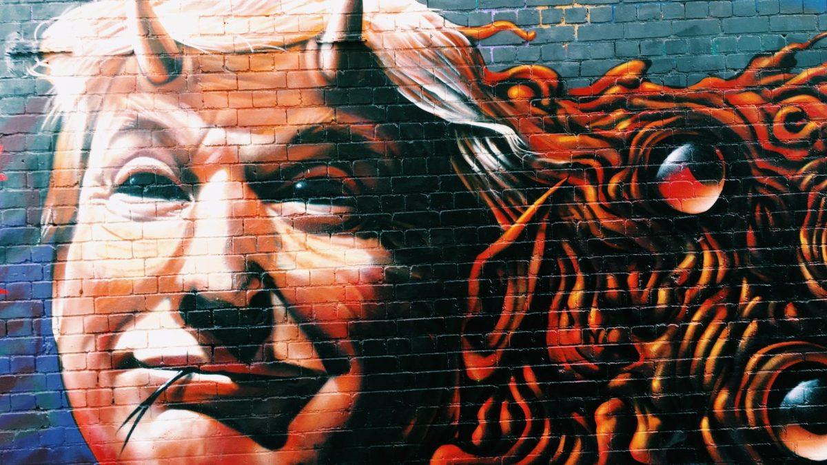 Donald Trump Grafitti