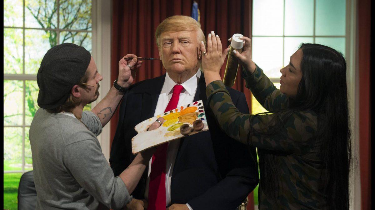 Donald Trump Haare