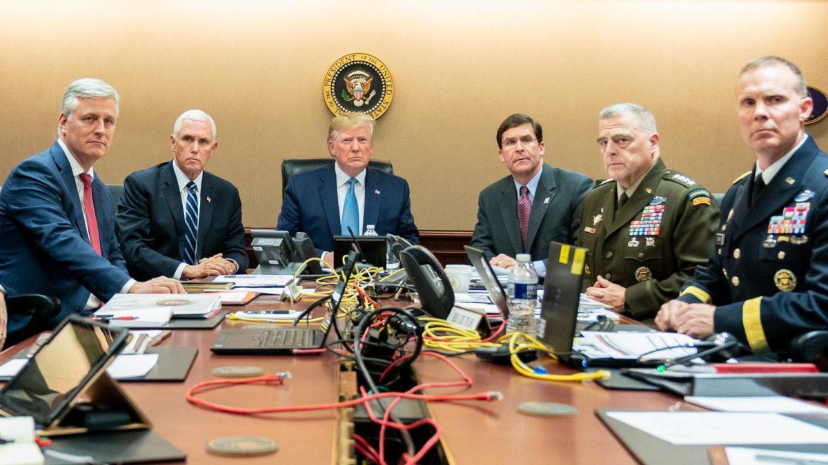 Donald Trump Militär