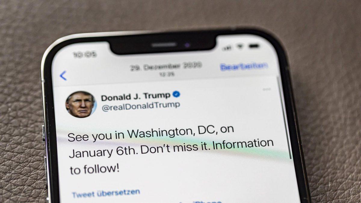 Donald Trump auf Twitter.