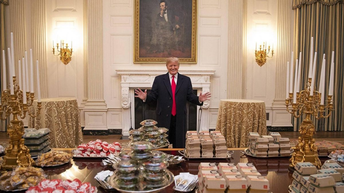 Donald Trump liebt Fast Food