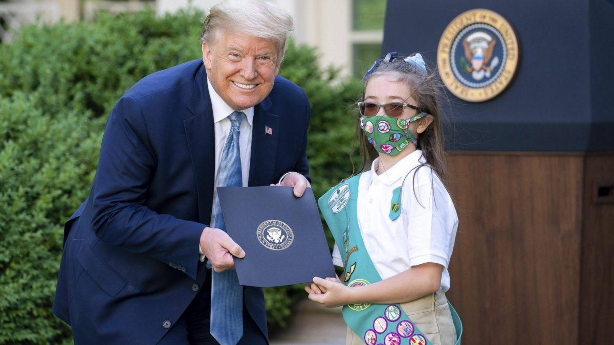 Donald Trump und Kinder